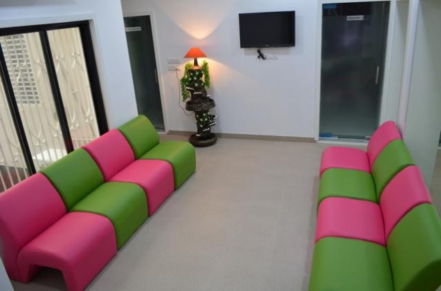 Clinic waiting lounge